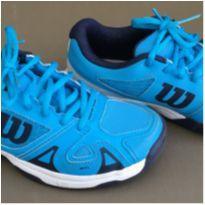 Tênis Wilson cor azul (ideal para quadras de tênis) - 33 - wilson