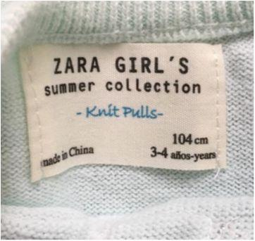 Blusa ZARA GIRLS  - Bordado - 3 anos - Zara Girls