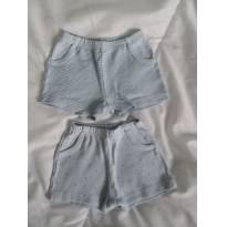 Shorts azul - 3 a 6 meses - Patimini