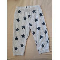 Calça de Plush com Estrelas - 9 a 12 meses - Baby Club