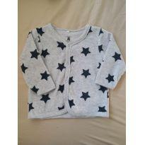 Casaco de plush com Estrelas
