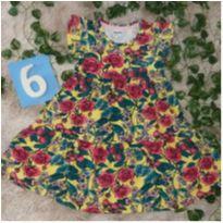Vestido PUC Hering, coleção PRIMAVERA VERÃO - 6 anos - Hering Kids