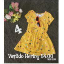 Vestido PUC Hering, coleção PRIMAVERA VERÃO - 4 anos - Hering