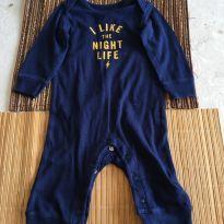 Macaquinho I Like The Nigh Life - 6 meses - Carter`s