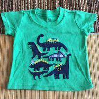 Camisa com dinossauros - 3 a 6 meses - Carter`s