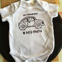 Body amo passear com meu papai - 6 meses - Baby Club