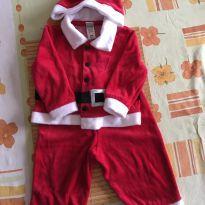 Roupa de Papai Noel neném - 9 meses - Cherokee