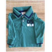 Camisa manga comprida 05 MLN - 6 a 9 meses - KTL Basic - BR