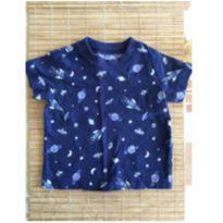 Camiseta com desenhos de motivos do espaço - 3 meses - Carter`s