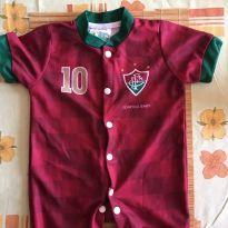 Camisa Torcedor Fluminense - 1 ano - Torcida baby  oficial