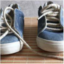 Tenis estiloso Jeans desbotado