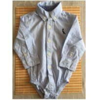 Body azul da Reservar - 6 a 9 meses - Reserva mini