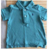 Camisa Polo verde Ralph Lauren - 9 meses - Ralph Lauren