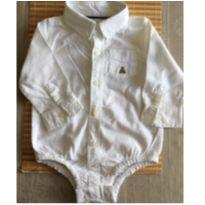 Body branco Gap Baby - 9 meses - Baby Gap