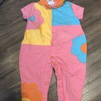 Macacão Color - 9 a 12 meses - Noruega Baby