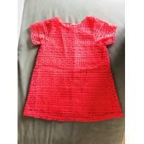 Vestido de renda Melancia - 12 a 18 meses - Zara