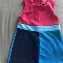Vestido Tommy maravilhoso! - 18 meses - Tommy Hilfiger