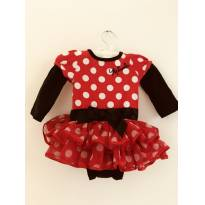Linda fantasia Minnie original Disney. - 0 a 3 meses - Disney