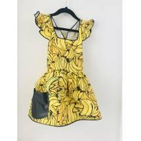 Vestido banana - 2 anos - Bicho Brasil