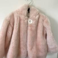 Lindo casaco rosa  de pelo Noruega - 3 anos - Noruega