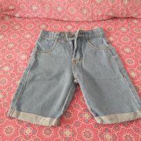 Bermuda Jeans Claro  Infantil Cativa - 4 anos - Cativa