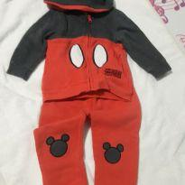 Conjunto mickey tamanho 1 - 9 a 12 meses - Disney baby