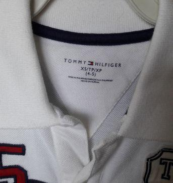 polo tommy classica - 5 anos - Tommy Hilfiger