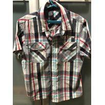 camisa xadrez manga curta - 6 anos - Hang Loose