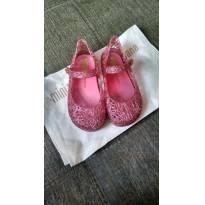 mini melissa + campana 23/24 rosa  com caixa - 23 - Melissa