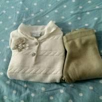 conjunto inverno Noruega baby 2 blusa e calça - 2 anos - Noruega Baby