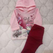 Conjunto de. moleton para bebê 3 meses - 3 meses - Brandili