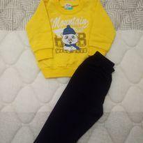 Conjunto de moleton bebê 9 a 12 meses - 9 meses - Elian