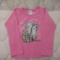 Camiseta manga longa com elastano - 2 anos - Elian