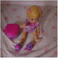 Boneca little momy peniquinho -  - Mattel