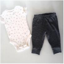 Body Carter`s e Calça Child - 3 meses - Carter`s e Child of Mine