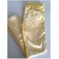 Calça amarela da 7 for all mankind - 10 anos - 7 For All Mankind