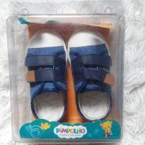 Tênis Novo Pimpolho azul jeans - 23 - Pimpolho