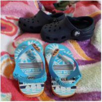 Crocs azulzinho - 19 - Jibbitz (By Crocs)