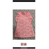 Vestido  infantil pink lessie importado 4 anos - 4 anos - Importado EUA