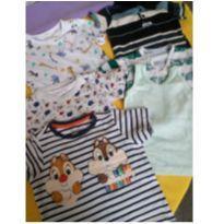 kit blusas - 6 meses - Disney