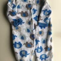Macacão Baby Gear Elefante - 0 a 3 meses - baby gear (EUA)