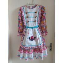 Vestido de festa junina - 11 anos - Outro