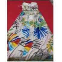 Vestido florido - G - 44 - 46 - Outra