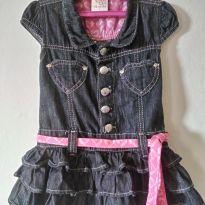 Vestido Jeans lindo! 1 ano - 1 ano - Mania Kids