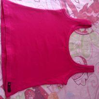 Camiseta rosa - 6 anos - Fabricação Nacional