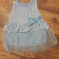 Vestido Azul - 0 a 3 meses - Importado