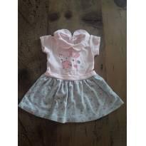 Vestido Fofo - 0 a 3 meses - Boulevard Baby