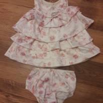 Vestido Charmoso Lilica Ripilica - 0 a 3 meses - Lilica Ripilica Baby