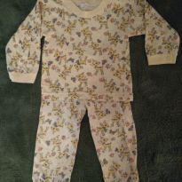 Pijama leve - 9 a 12 meses - Não informada