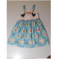 Vestido Azul - 2 anos - Alphabeto